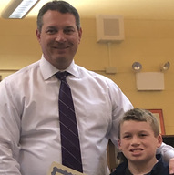5th Grade - Student of the Month in the spotlight
